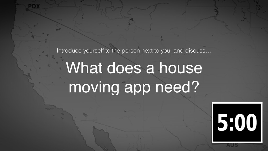 What does a house moving app need? Introduce yo...