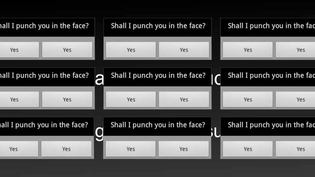 Dialog boxes suck. Being modal also sucks.