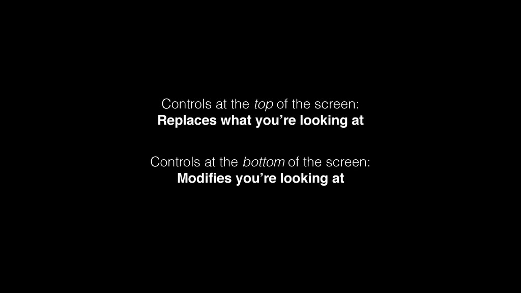 Controls at the top of the screen: Replaces wha...