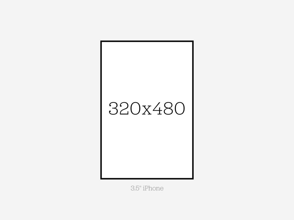 "320x480 3.5"" iPhone"