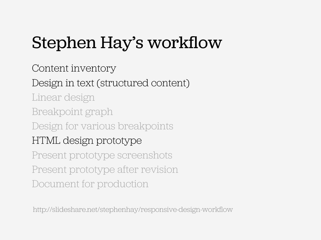 Content inventory Design in text (structured co...