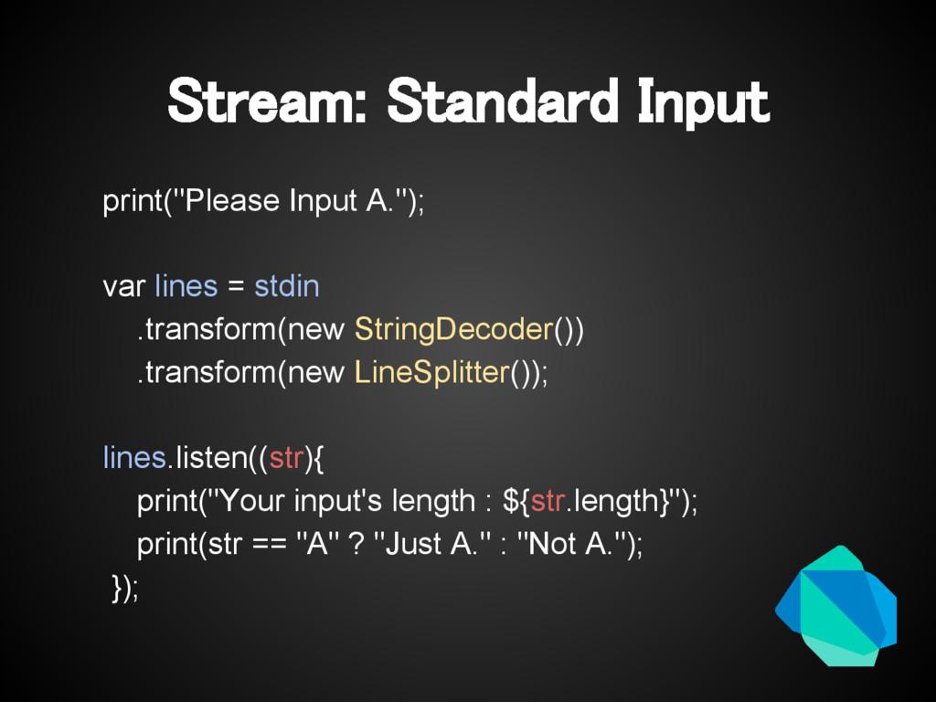 "Stream: Standard Input print(""Please Input A."")..."