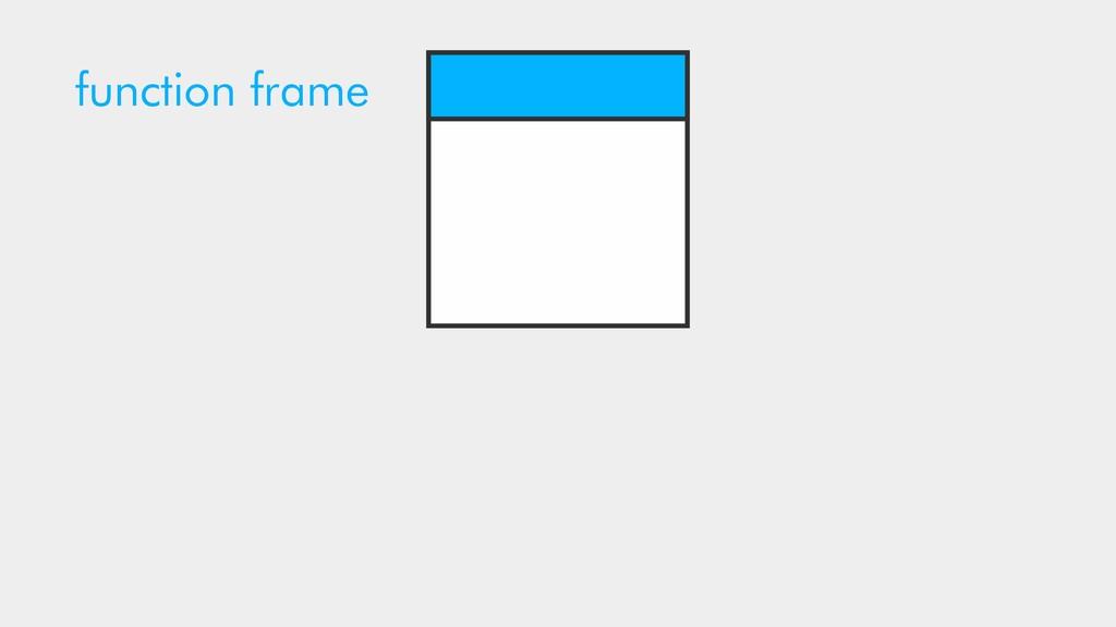 function frame