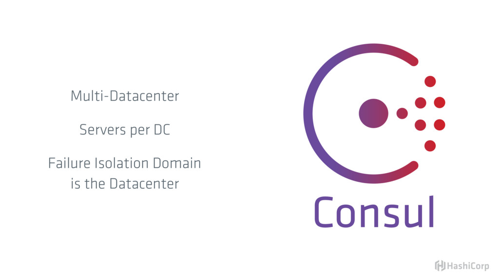 Consul Multi-Datacenter Servers per DC Failure ...