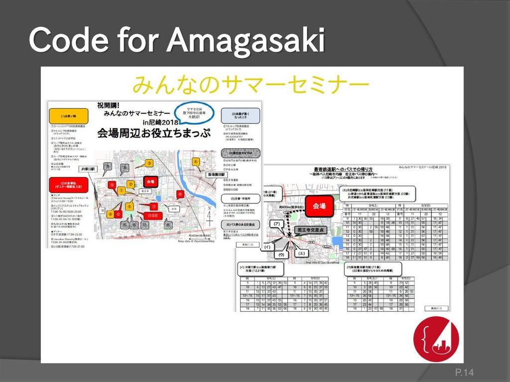 Code for Amagasaki P.14