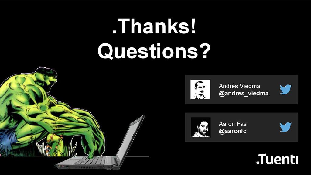 Aarón Fas @aaronfc Andrés Viedma @andres_viedma...