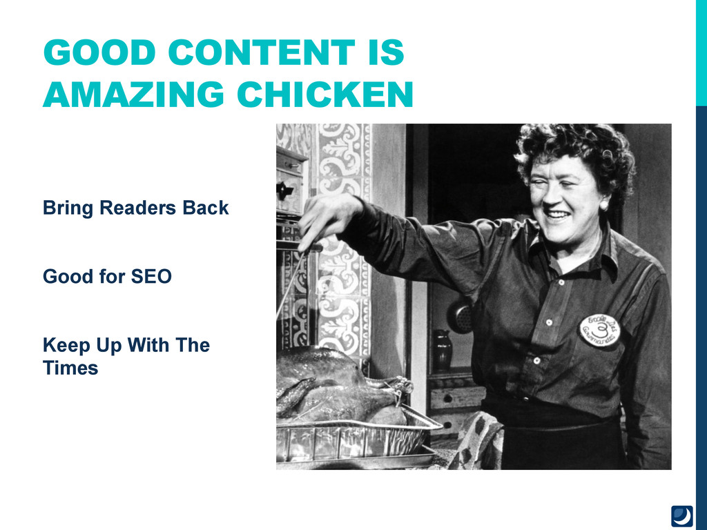 Bring Readers Back Good for SEO Keep Up With Th...
