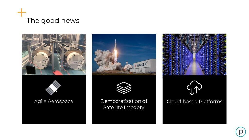[Macro trends slide] Democratization of Satelli...