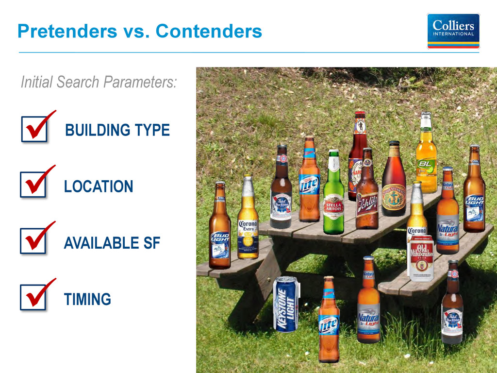 Pretenders vs. Contenders BUILDING TYPE LOCATIO...