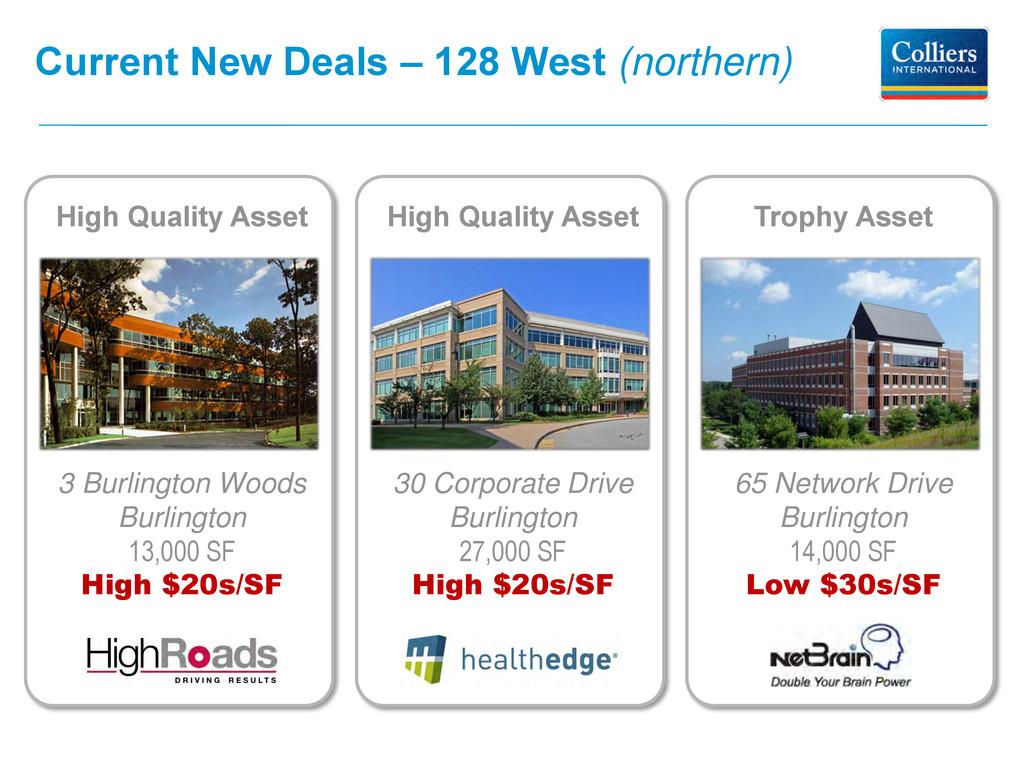 65 Network Drive Burlington 14,000 SF Low $30s/...