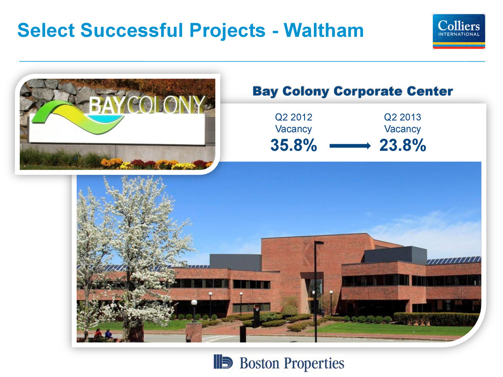 Select Successful Projects - Waltham Bay Colony...