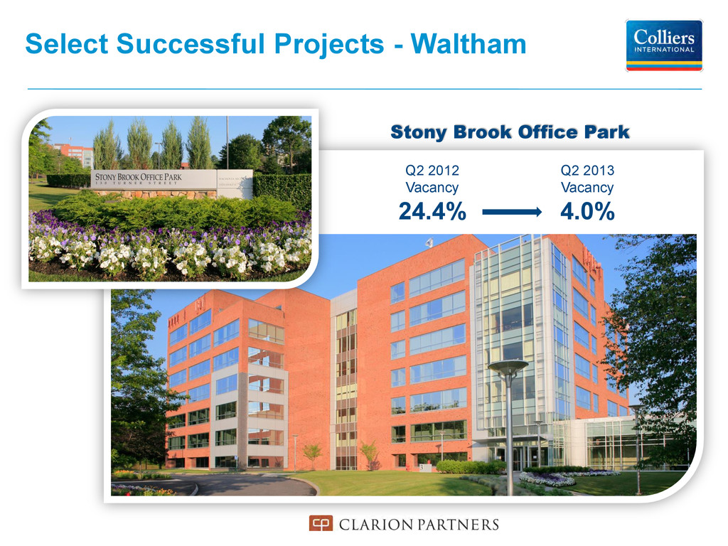 Select Successful Projects - Waltham Stony Broo...