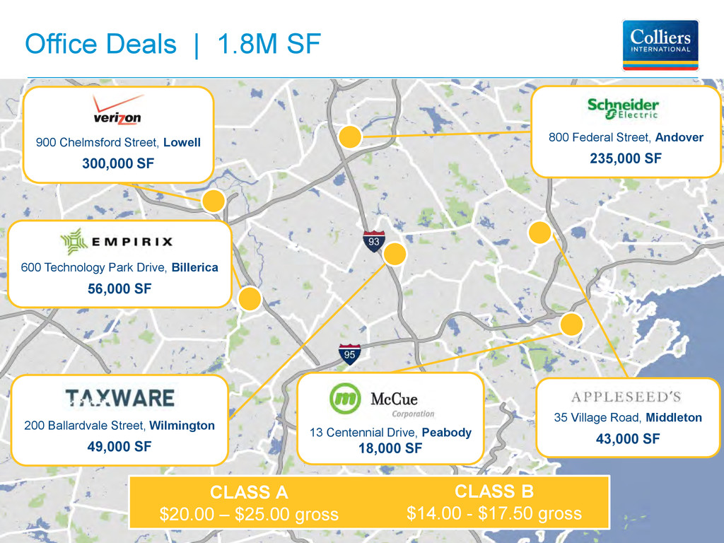 Office Deals | 1.8M SF 35 Village Road, Middlet...