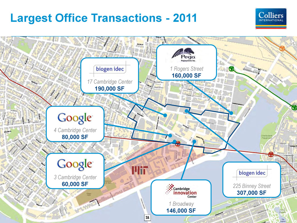 Largest Office Transactions - 2011 4 Cambridge ...