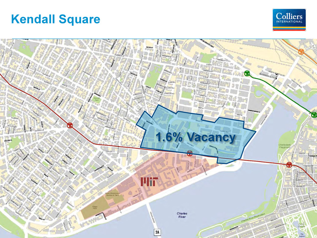 Kendall Square 1.6% Vacancy