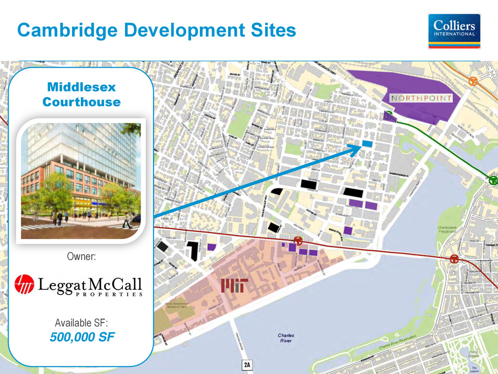 Cambridge Development Sites Owner: Available SF...