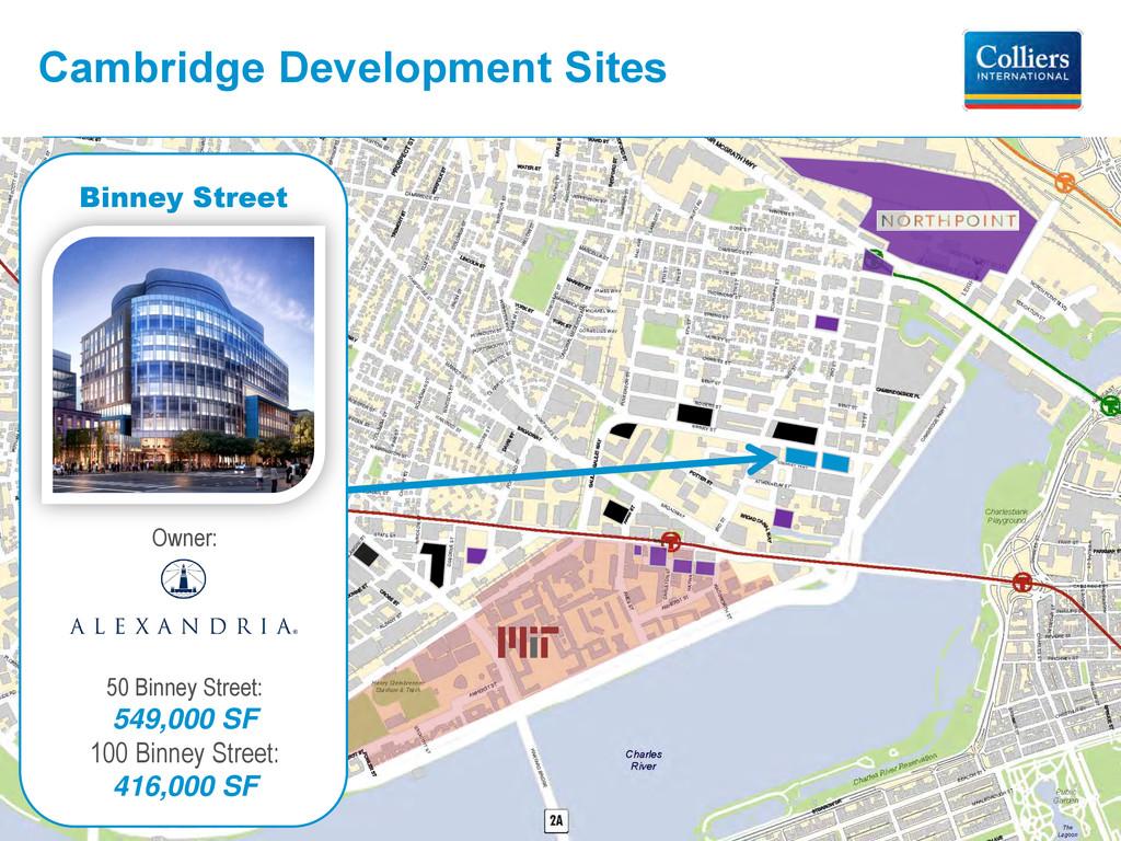 Cambridge Development Sites Owner: 50 Binney St...