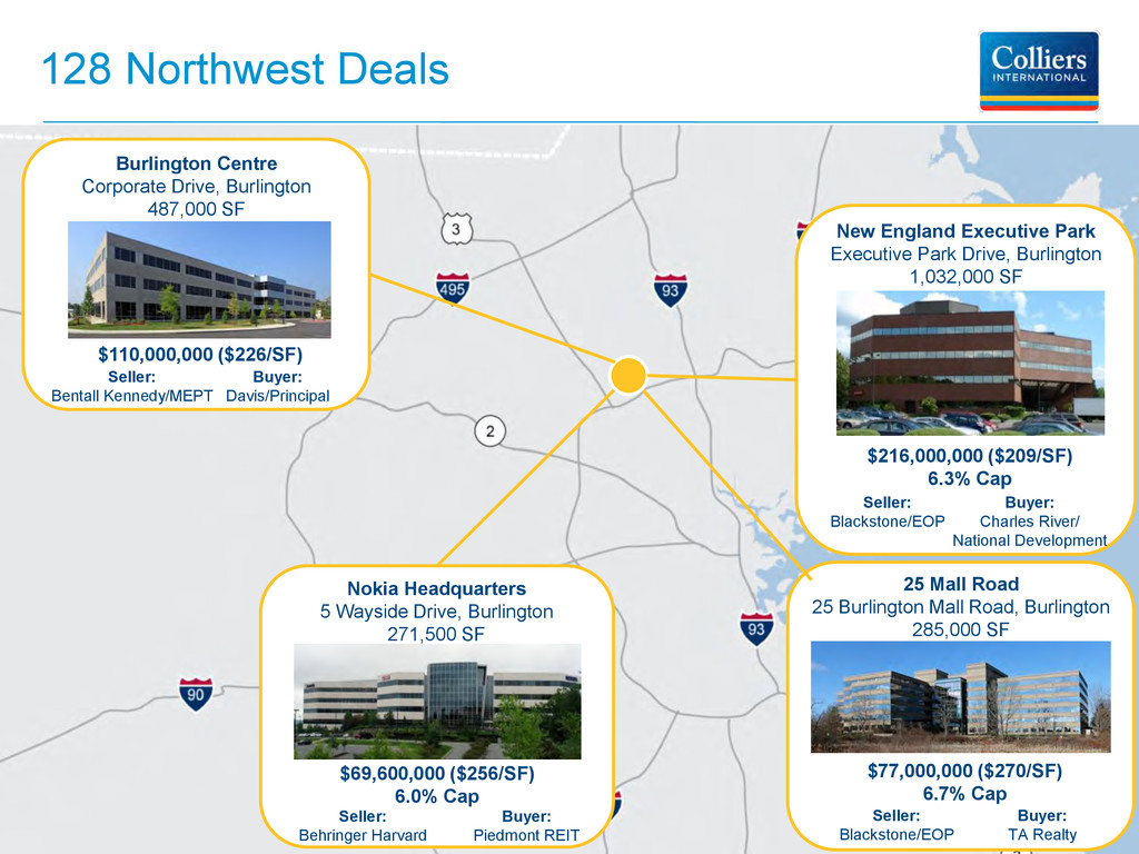 128 Northwest Deals Seller: Blackstone/EOP $77,...