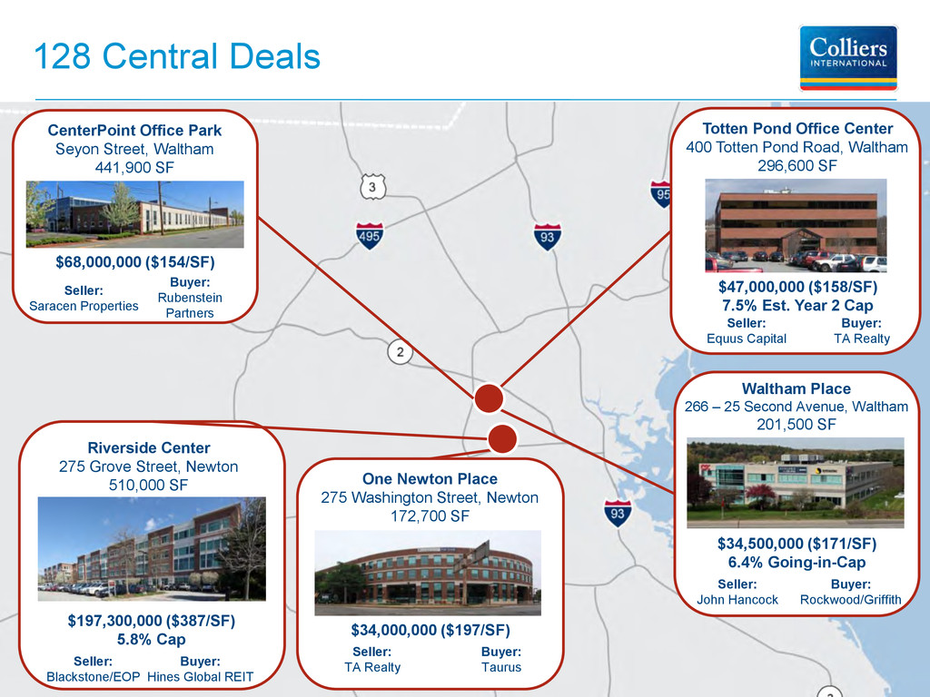 128 Central Deals Seller: Equus Capital $47,000...