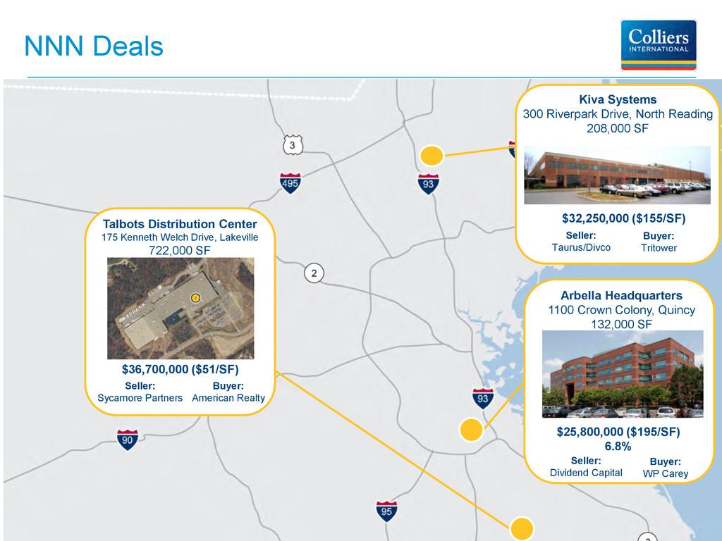 NNN Deals Seller: Dividend Capital $25,800,000 ...