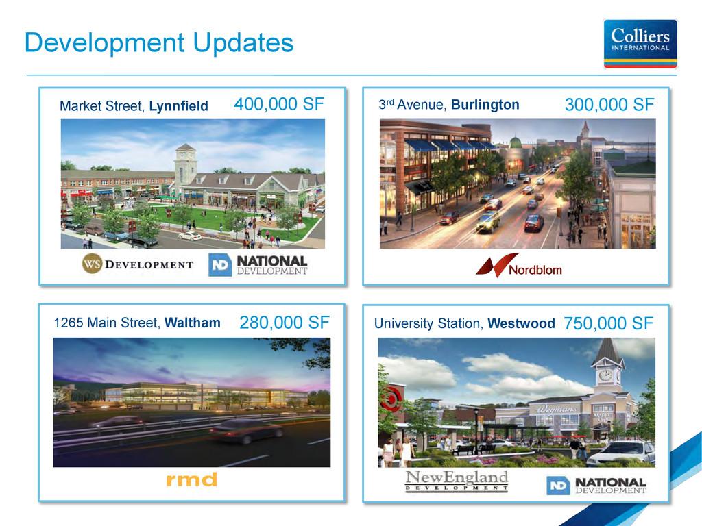 Development Updates Market Street, Lynnfield 40...