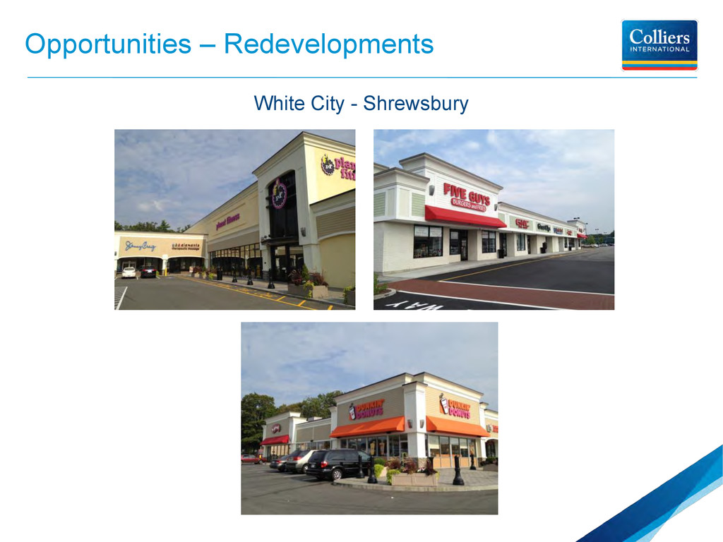 Opportunities – Redevelopments White City - Shr...