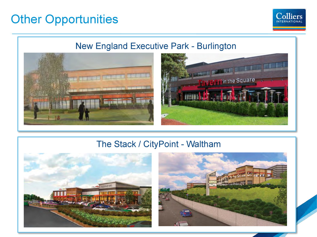 Other Opportunities New England Executive Park ...