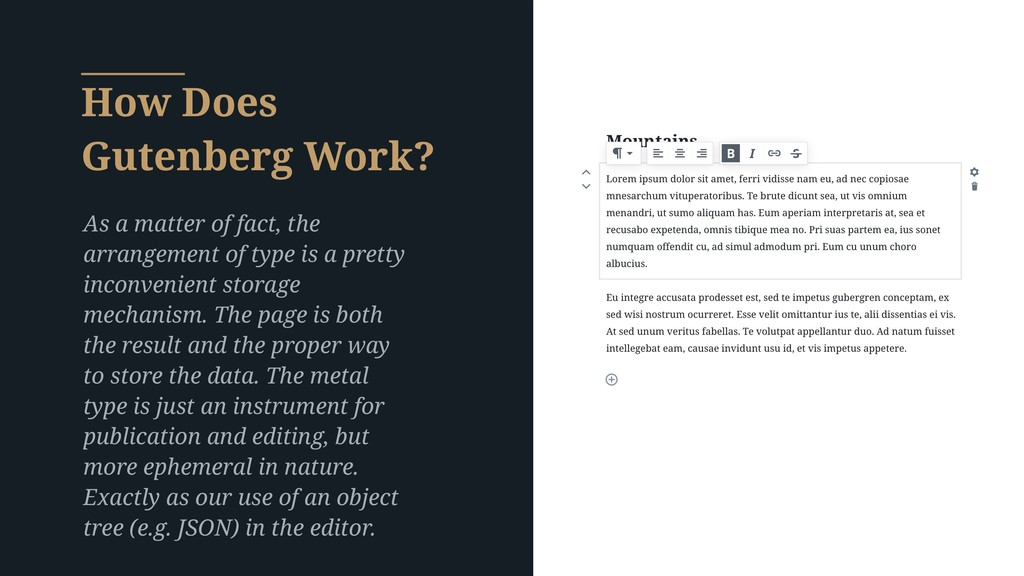 How Does Gutenberg Work? As a matter of fact, t...