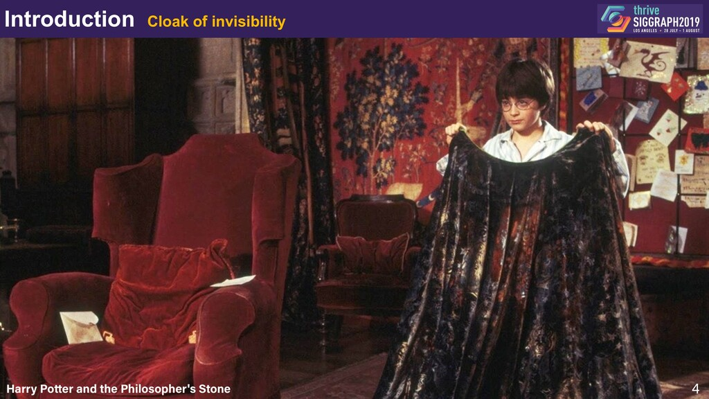 Introduction Cloak of invisibility 4 Harry Pott...