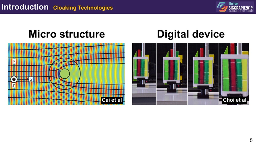 Introduction Cloaking Technologies 5 Cai et al ...