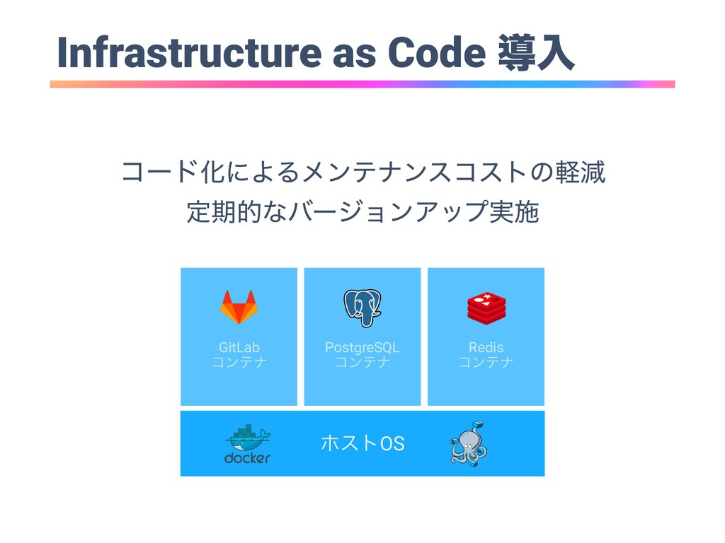 Infrastructure as Code ಋೖ ϗετOS GitLab ίϯςφ Pos...