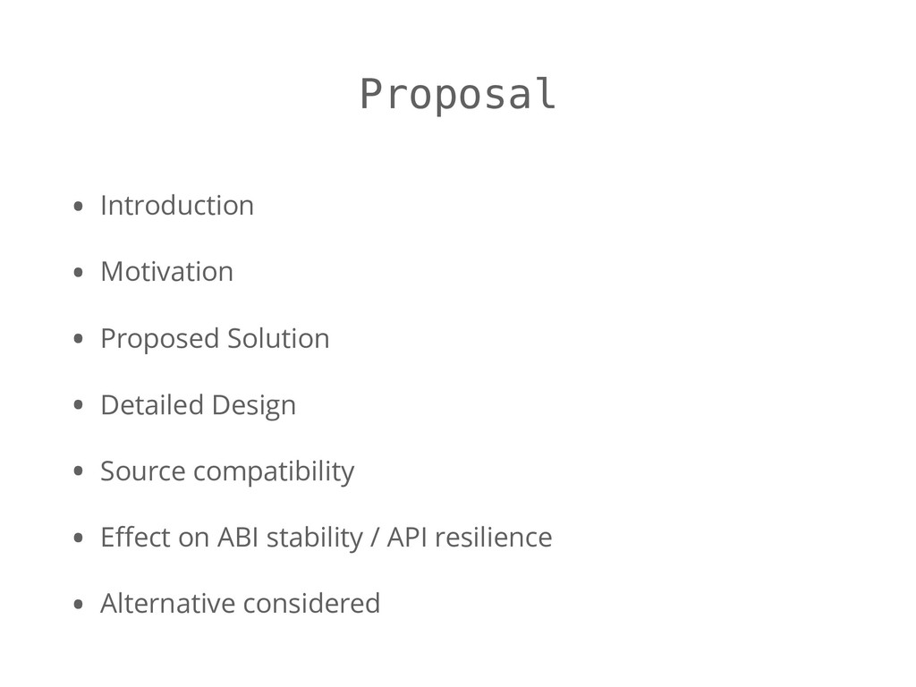 Proposal • Introduction • Motivation • Proposed...