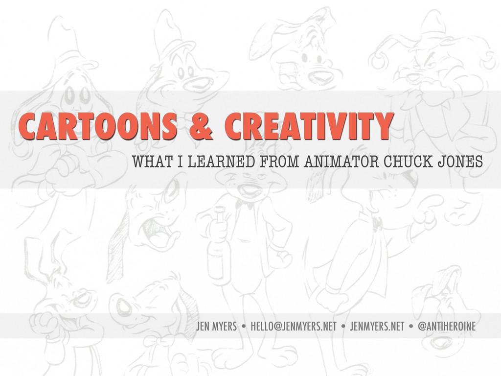 CARTOONS & CREATIVITY WHAT I LEARNED FROM ANIMA...