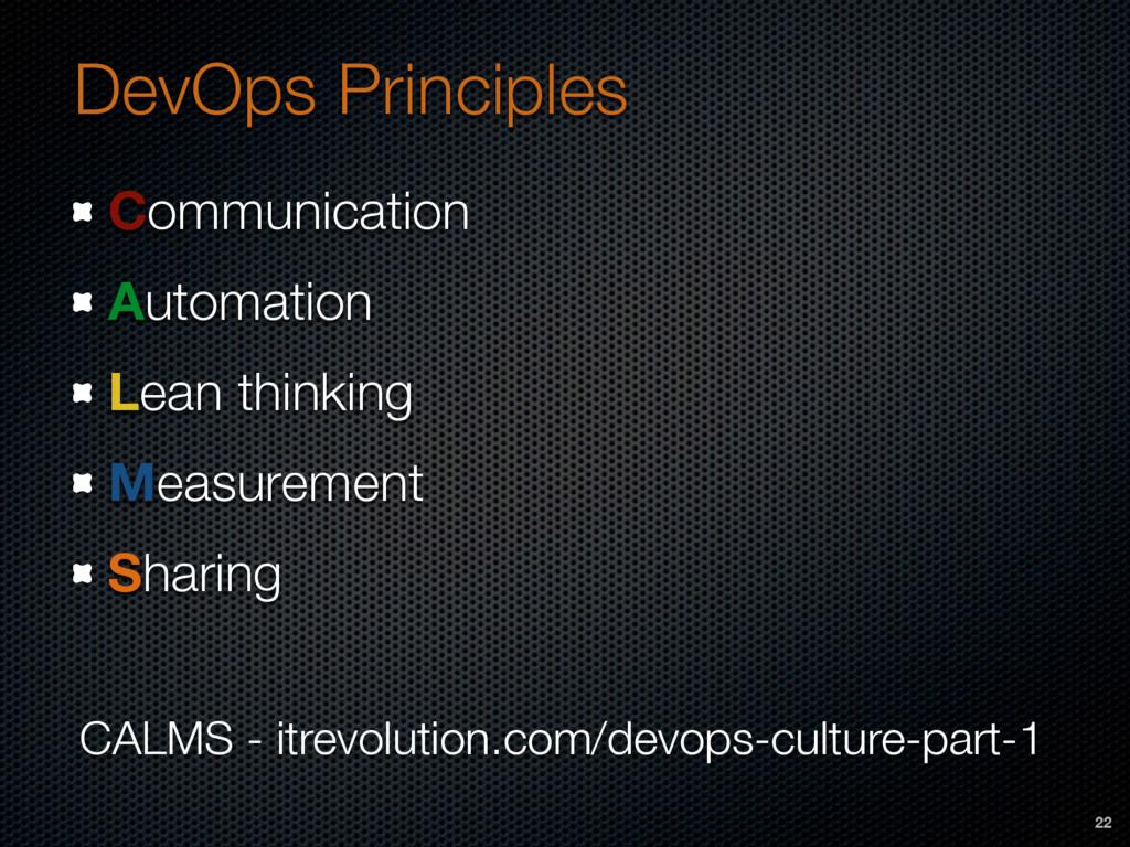 DevOps Principles Communication Automation Lean...
