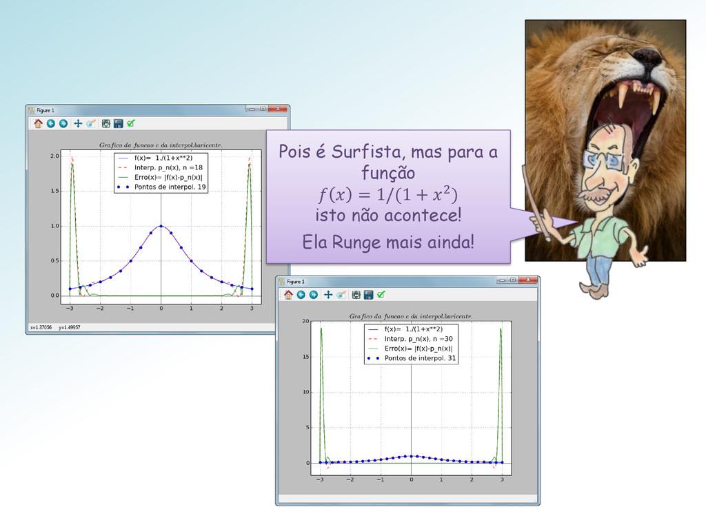 Pois é Surfista, mas para a função   = 1/(1 + 2...