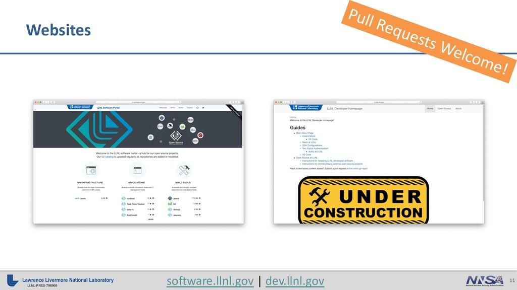 11 LLNL-PRES-796969 software.llnl.gov | dev.lln...