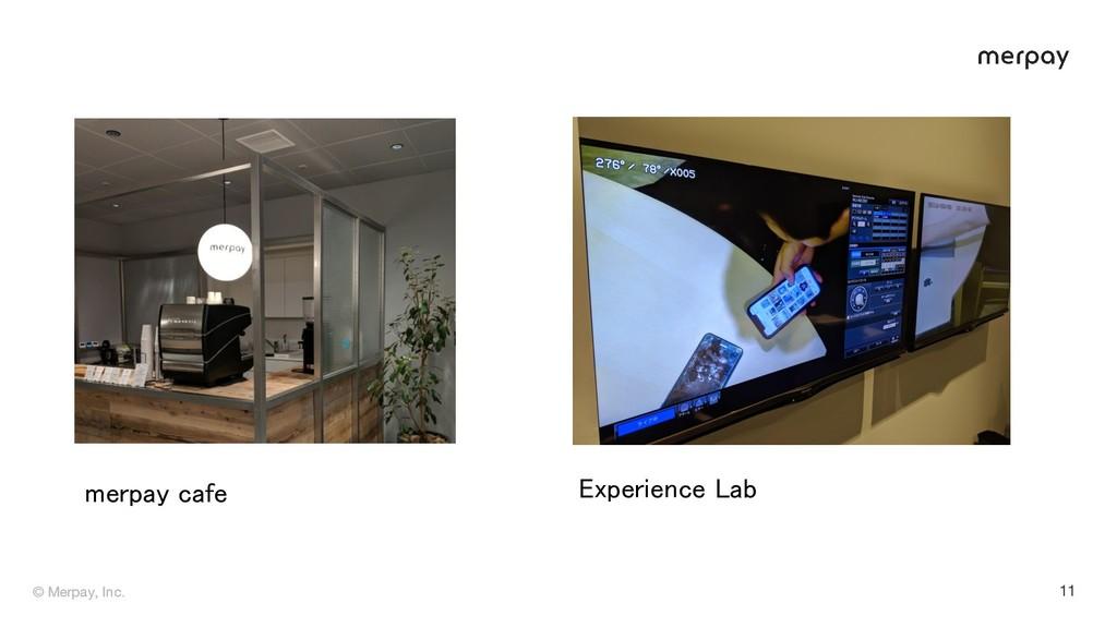 © Merpay, Inc. © Merpay, Inc. 11 Experience Lab...