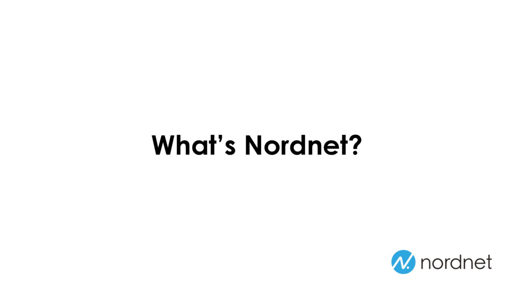 What's Nordnet?