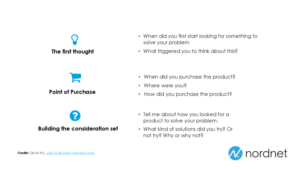 • When did you purchase the product? • Where we...