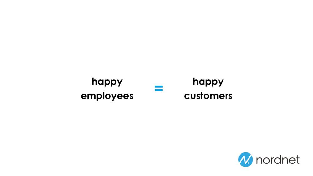 = happy employees happy customers