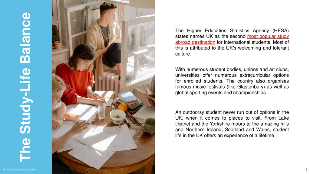 The Study-Life Balance The Higher Education Sta...