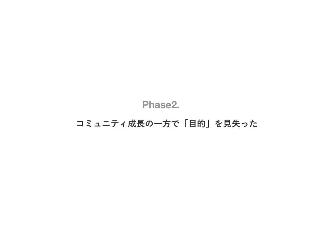 ίϛϡχςΟͷҰํͰʮతʯΛݟࣦͬͨ Phase2.