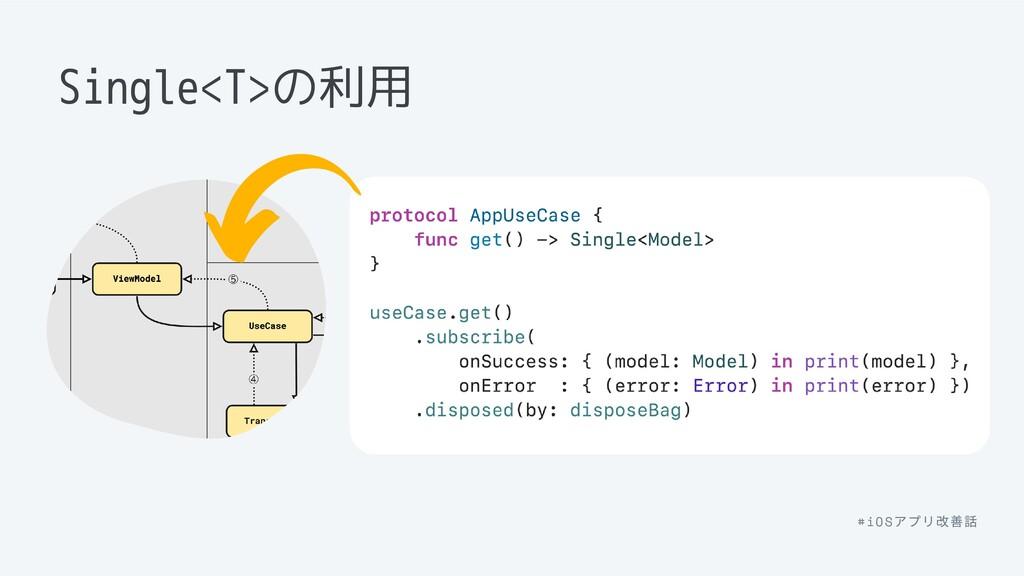 Single<T>の利用 #iOS アプリ