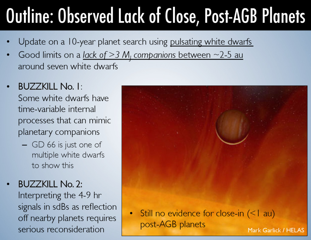 • Update on a 10-year planet search using puls...