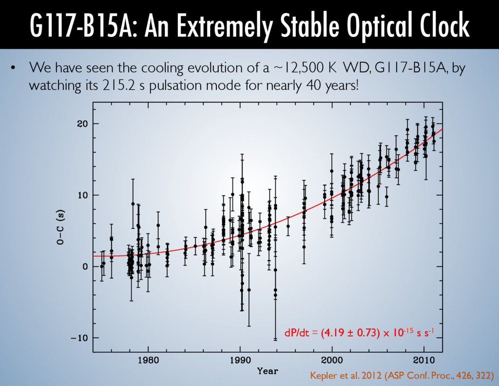 • We have seen the cooling evolution of a ~12,...