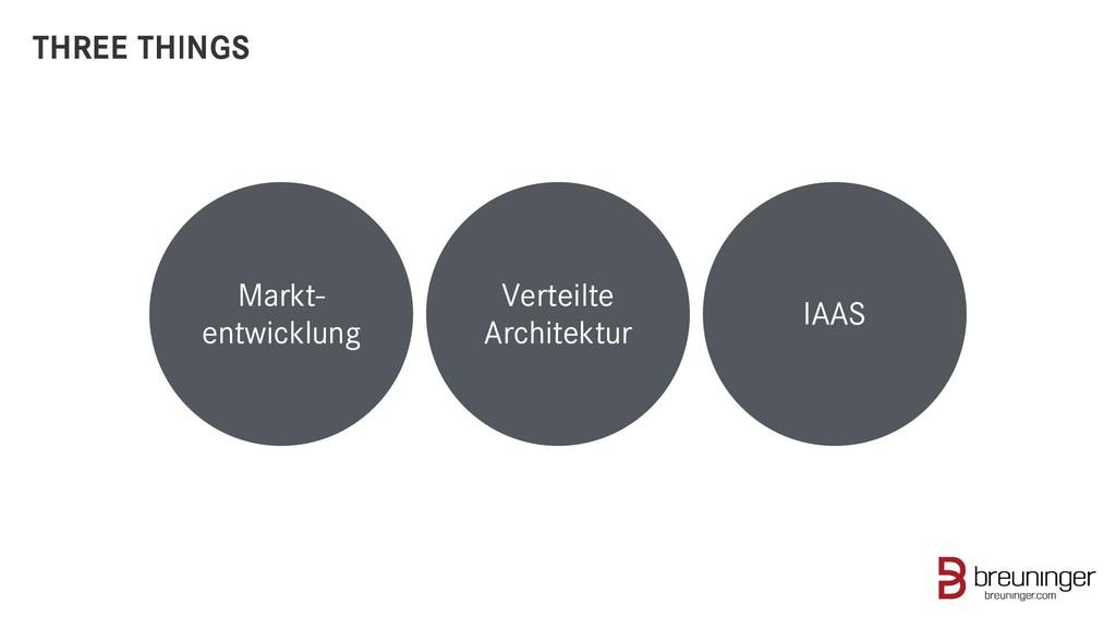 Markt- entwicklung Verteilte Architektur IAAS T...