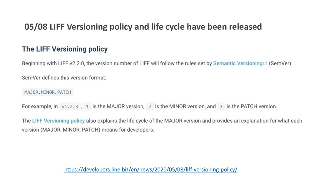 05/08 LIFF Versioning policy and life cycle hav...