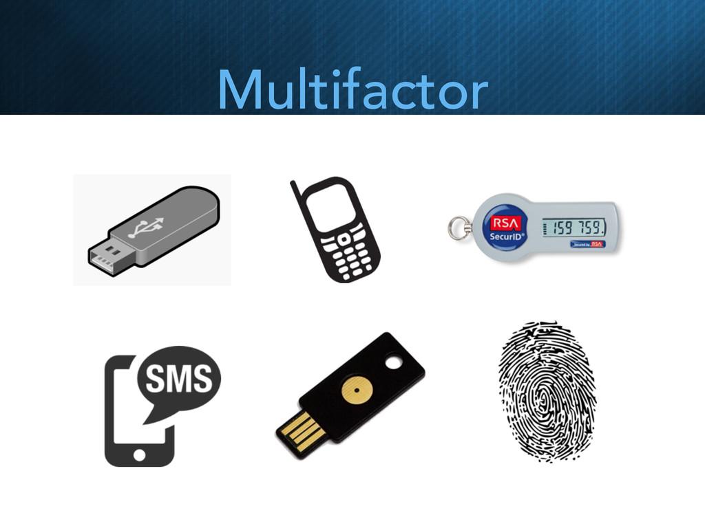 Multifactor