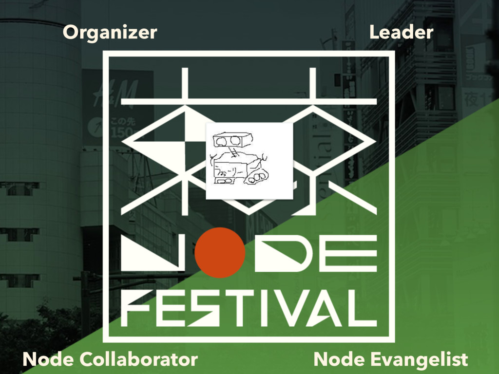 Organizer Leader Node Collaborator Node Evangel...