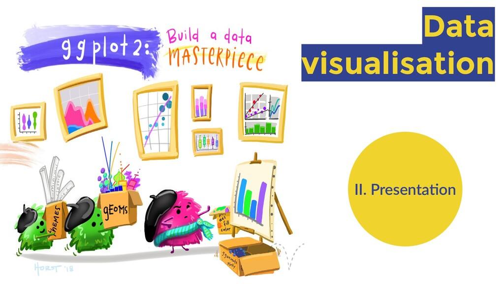 Data visualisation II. Presentation